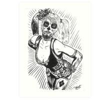 Sugar Harley Art Print