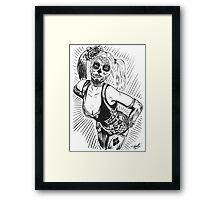Sugar Harley Framed Print
