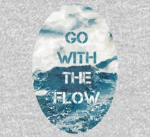 Go With the Flow Kids Tee