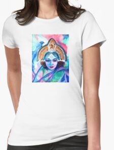 Blue Jay Priestess Womens Fitted T-Shirt