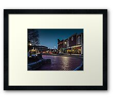Our Town 4.18.15 Framed Print