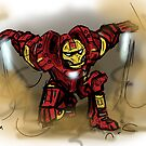 Iron man by PieterDC
