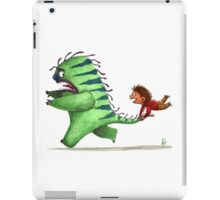 Who is scared? iPad Case/Skin