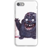 Bloody monster iPhone Case/Skin
