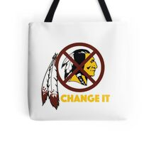 Change It: Redskins Tote Bag