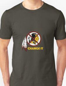 Change It: Redskins Unisex T-Shirt