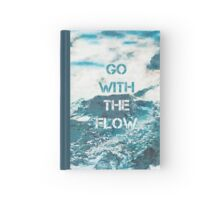 Go With the Flow Hardcover Journal