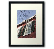 Deathly Hang Framed Print