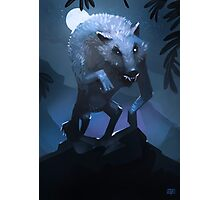 Hungry werewolf Photographic Print