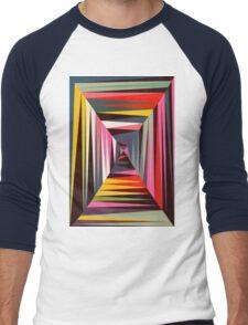 Retro Tunnel Men's Baseball ¾ T-Shirt