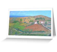 The valley of stillness Greeting Card