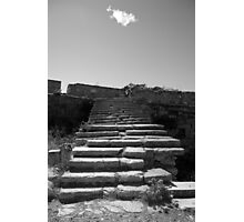 Steps to the cloud Photographic Print