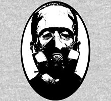 Gas Mask Frankenstein Unisex T-Shirt