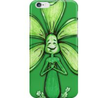 Green Color Chakra Flowerkid iPhone Case/Skin