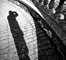Shadow of the man by Denis Charbonnier