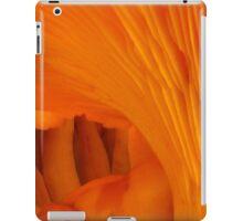 Orange Fungi Tunnel Of Love iPad Case/Skin