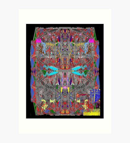 Abode Above  Art Print