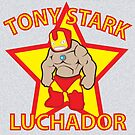 Tony Stark Luchador by Moncs