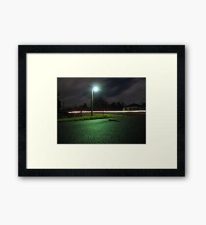 Tuesday Night Framed Print