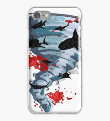 Shark Tornado - Science Fiction Shark Movie - Shark Attack - Shark Tornado Oh Hell No - Sharks! iPhone Case/Skin