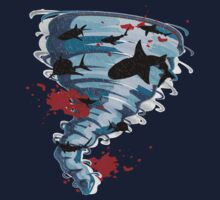 Shark Tornado - Science Fiction Shark Movie - Shark Attack - Shark Tornado Oh Hell No - Sharks! by traciv