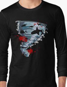Shark Tornado - Science Fiction Shark Movie - Shark Attack - Shark Tornado Oh Hell No - Sharks! Long Sleeve T-Shirt