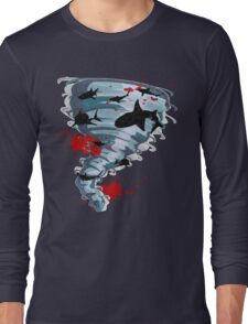 Shark Tornado - Science Fiction Shark Movie - Shark Attack - Shark Tornado Oh Hell No - Sharks! Long Sleeve T-Shirt