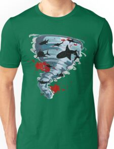 Shark Tornado - Science Fiction Shark Movie - Shark Attack - Shark Tornado Oh Hell No - Sharks! Unisex T-Shirt