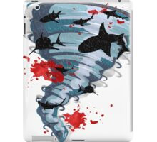 Shark Tornado - Science Fiction Shark Movie - Shark Attack - Shark Tornado Oh Hell No - Sharks! iPad Case/Skin
