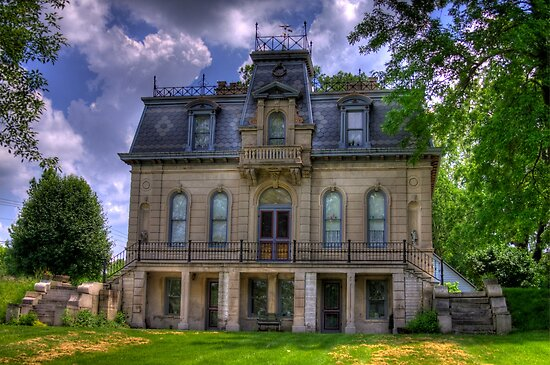 Matthews Mansion - Ellettsville, IN by David Owens