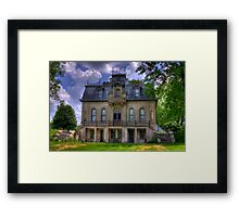 Matthews Mansion - Ellettsville, IN Framed Print