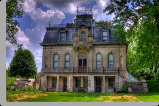 Matthews Mansion - Ellettsville, IN by David Owens