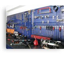 Automobile mechanic Canvas Print