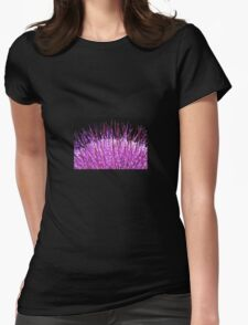 Thistle Macro Womens Fitted T-Shirt