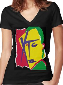 XTC! Women's Fitted V-Neck T-Shirt