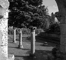 In a Monastery Garden by WatscapePhoto