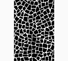 British Mosaic Zoom Black and White Unisex T-Shirt