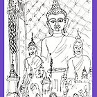 Thailand-Inside a Buddhist Wat by James Lewis Hamilton