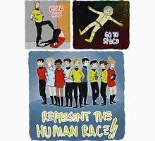 kick ass go to space represent the human race Unisex T-Shirt