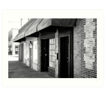 Awning Up To It Art Print