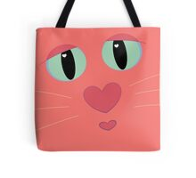 Kitty Kiss?  Kitty Cuddle? Tote Bag