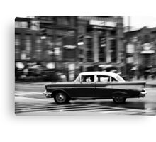 Downtown Driver Canvas Print