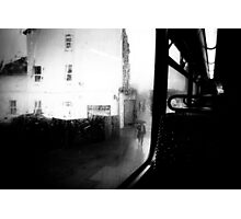 from the bus Photographic Print