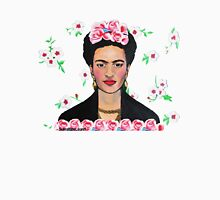 Frida in the Flowers Tee Womens Fitted T-Shirt
