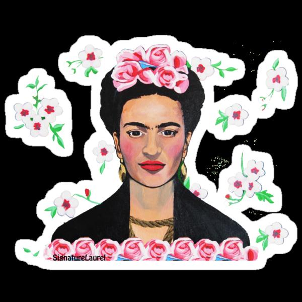 Frida in the Flowers Tee by signaturelaurel