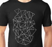 Abstraction Outline Black and white Unisex T-Shirt