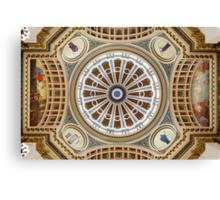Rotunda in Symmetry #2 Canvas Print