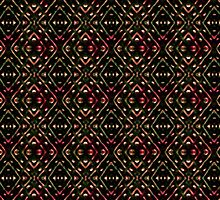 Dark Diamonds Pattern by DFLC Prints