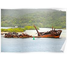 Another ship wreck Poster