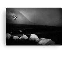 bad weather and proud of it Canvas Print